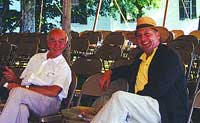 Martin J. Donnelly with Legendary Auctioneer Dick Withington - 2004
